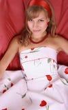 модельное сексуальное Стоковое фото RF