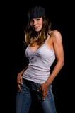 модельное сексуальное стоковая фотография rf