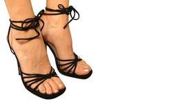 модельный ботинок Стоковое Фото