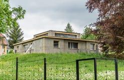 Модельный дом Баухауза Веймара стоковые фото