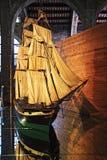 модельный корабль стоковое изображение