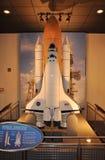 модельный космос челнока стоковое изображение rf