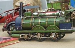 Модельный поезд на выставке Стоковая Фотография RF
