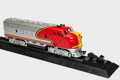 модельный поезд Стоковое Изображение