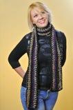 модельный шарф Стоковые Изображения RF