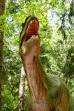 Модель аллозавра стоковая фотография