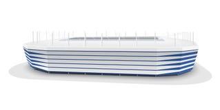 Модель вектора футбольного стадиона Калининграда Стоковое Изображение