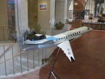 Модель воздушных судн наследия 600 Embraer в Праге Стоковая Фотография RF