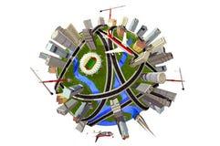 модель глобуса иллюстрация штока