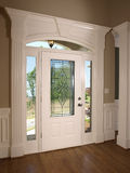 модель двери передняя домашняя роскошная Стоковая Фотография RF