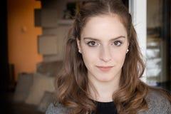 модель девушки больше моего портрета портфолио видит подросток съемок Стоковые Изображения RF