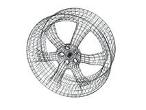модель диска автомобиля Стоковые Фотографии RF