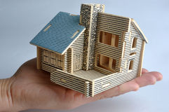 модель дома стоковые фотографии rf