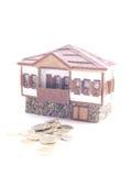 модель домов Стоковое Изображение