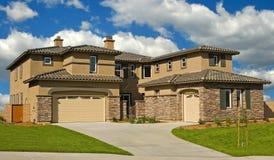 модель домов Стоковое Фото