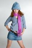 модель женщины способа Стоковые Изображения RF
