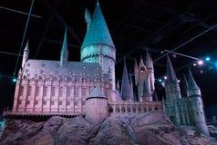 Модель замка Hogwarts стоковое фото