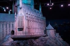 Модель замка Hogwarts стоковые изображения