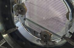 Модель зеркала интерферометра Virgo Стоковые Фото
