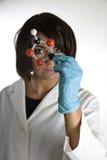 модель лаборатории 53 пальто Стоковое Фото