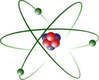 модель лития атома Стоковое Фото