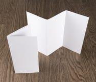 Модель-макет белого bookle Стоковое фото RF