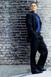 модель мужчины дела Стоковые Фотографии RF