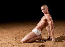 модель пляжа Стоковое фото RF