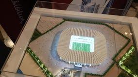 Модель стадиона на кубок мира 2022 футбола видеоматериал