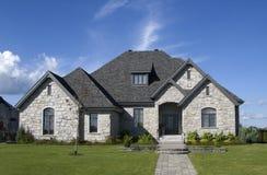 модель 2 домов Стоковое Изображение