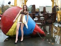 модель ar красивейшая женская промышленная Стоковая Фотография RF