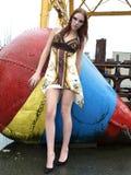 модель ar красивейшая женская промышленная Стоковое Изображение