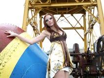 модель ar красивейшая женская промышленная Стоковые Изображения