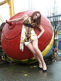 модель ar красивейшая женская промышленная Стоковые Изображения RF