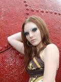 модель ar красивейшая женская промышленная Стоковые Фотографии RF