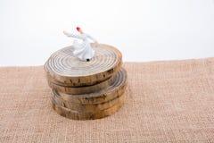Модель figurine дервиша Sufi в малом размере Стоковые Изображения