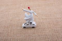 Модель figurine дервиша Sufi в малом размере Стоковая Фотография RF