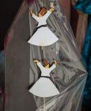 Модель figurine дервиша Sufi в малом размере Стоковые Фотографии RF
