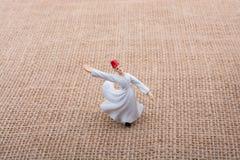 Модель figurine дервиша Sufi в малом размере Стоковое Изображение RF