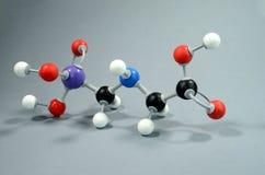 Модель Glyphosphate, общее pesticid молекулы стоковые фото