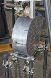 Модель superattenuator интерферометра Virgo Стоковая Фотография RF