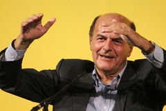 МОДЕНА, ИТАЛИЯ, сентябрь 2016, демократичный съезд политической партии, пристань Luigi Bersani Стоковые Фотографии RF