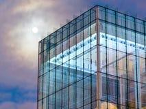 модернистская луна стоковая фотография