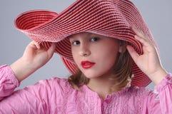 модная девушка Стоковая Фотография