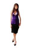модная женщина Стоковое Изображение RF