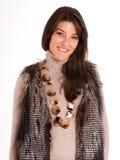 Модная молодая женщина Стоковые Изображения