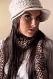 модные женщины портрета Стоковое Изображение RF