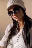 модные женщины портрета Стоковое фото RF