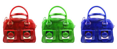 модные сумки Стоковая Фотография