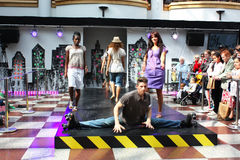 модный парад стоковые фотографии rf